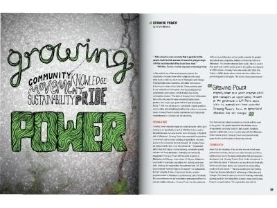 'Growing Power' editorial illus - graceblevins | ello