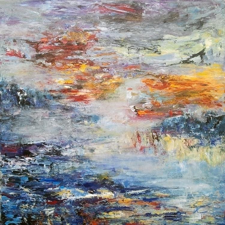 Water landscape 8 50 cm - painting - xplore-1239 | ello