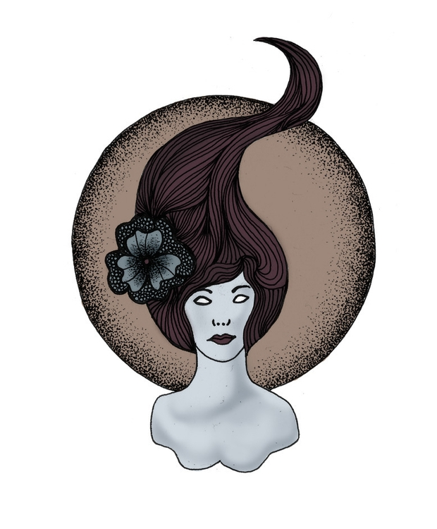 Lady Doodle - illustration, digitalillustration - byeblackbirdy | ello