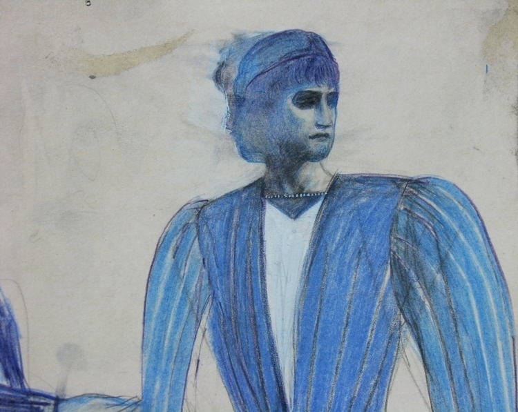Romeo, color pencils - romeo, drawing - adidraw | ello