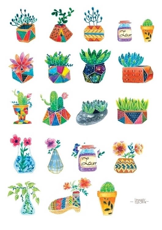 floral cultura small illustrati - hsieying   ello