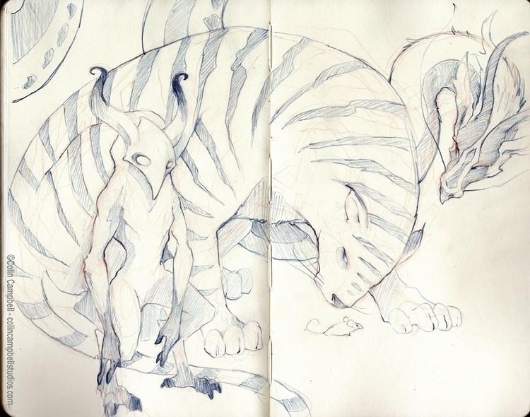 Sketchbook doodles - sketch, sketchbook - ccampbellart   ello