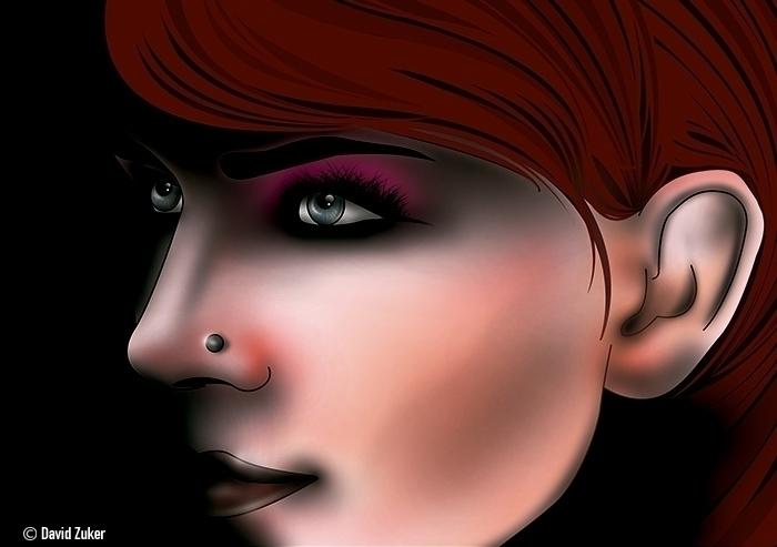 Cyme - illustration, digitalart - davidzuker   ello