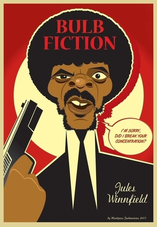 Bulb Fiction - illustration, pulpfiction - marts-1415 | ello