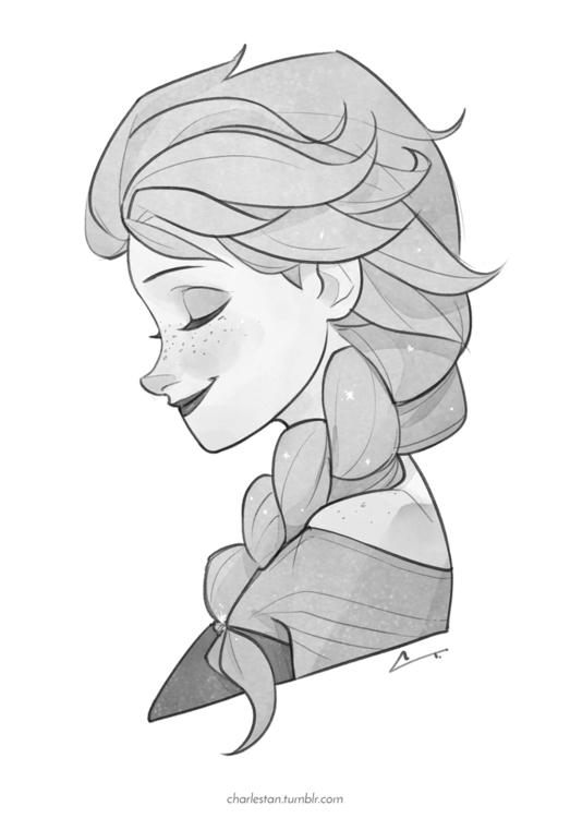 Elsa <3 - elsa, frozen, disney - charlestan | ello