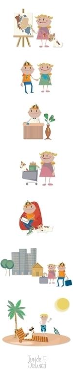 illustration, characterdesign - tunde-5699 | ello