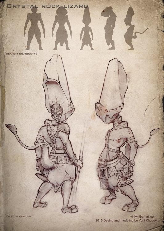 3d, characterdesign - yuryhudov | ello