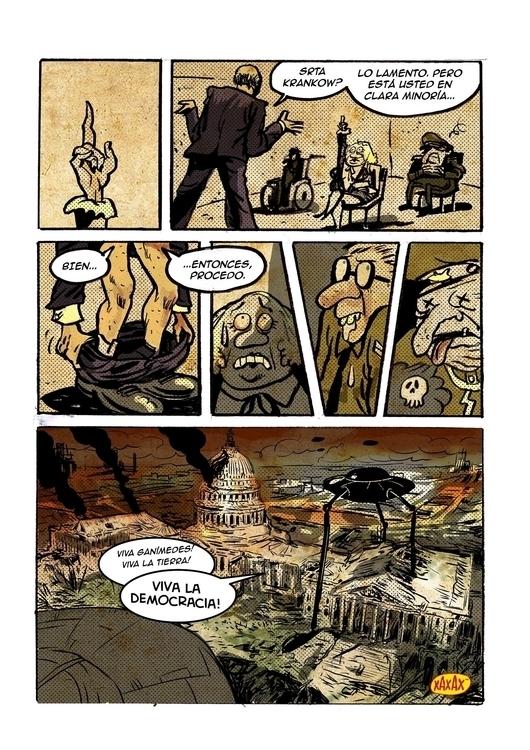 President Lomax - illustration, comicbooks - xaxax | ello