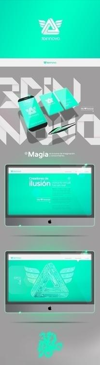 3DiNNOVO - webdesign, branding, logo - lukeandphil | ello