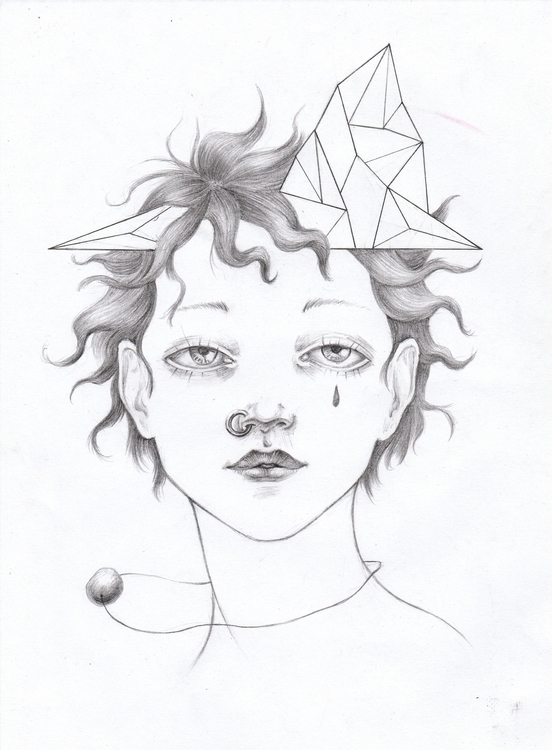 illustration, portrait, surreal - shpadyreva | ello