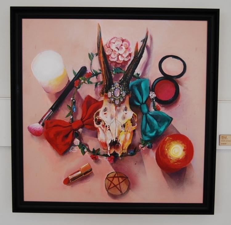 Ritual. Modern life painting ri - littledeadbird | ello