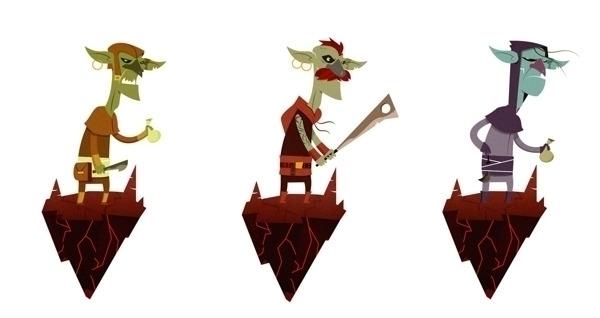 Goblin - characterdesign, goblin - jjneto | ello