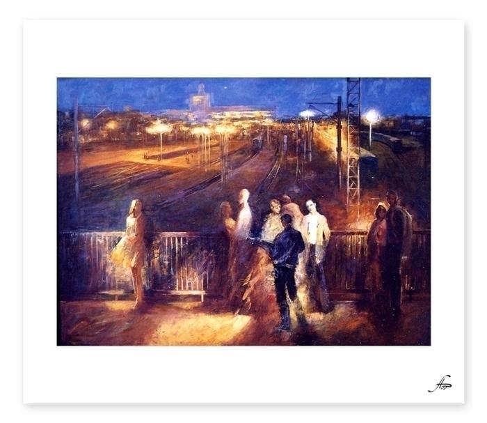 painting - dart-6621 | ello