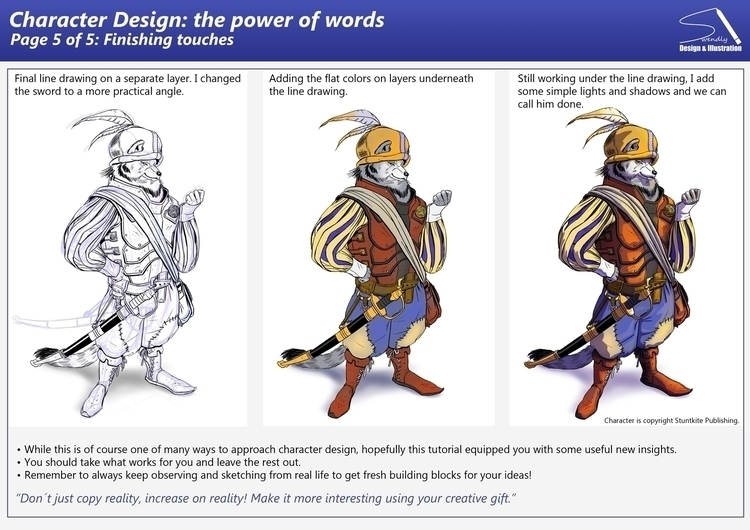 power Words tutorial - characterdesign - swen-4256 | ello
