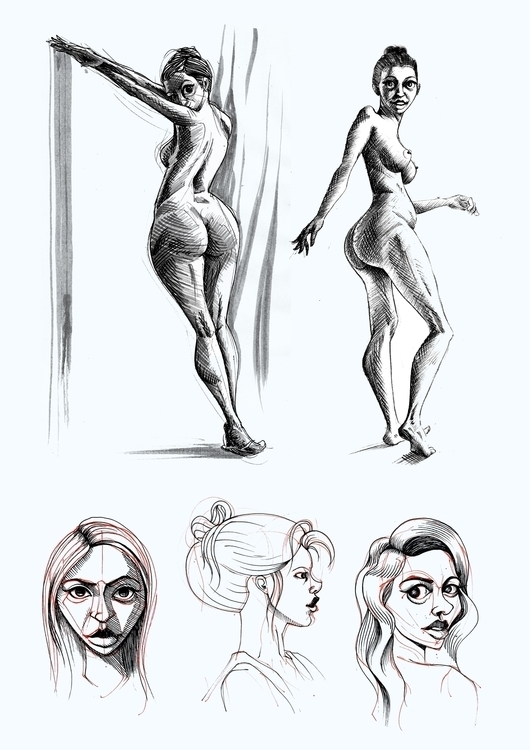 Woman studies comic - girl, woman - kaiman-6057 | ello