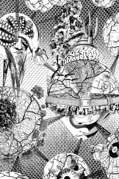 surreal, surrealism, drawing - alberto_matsumura | ello