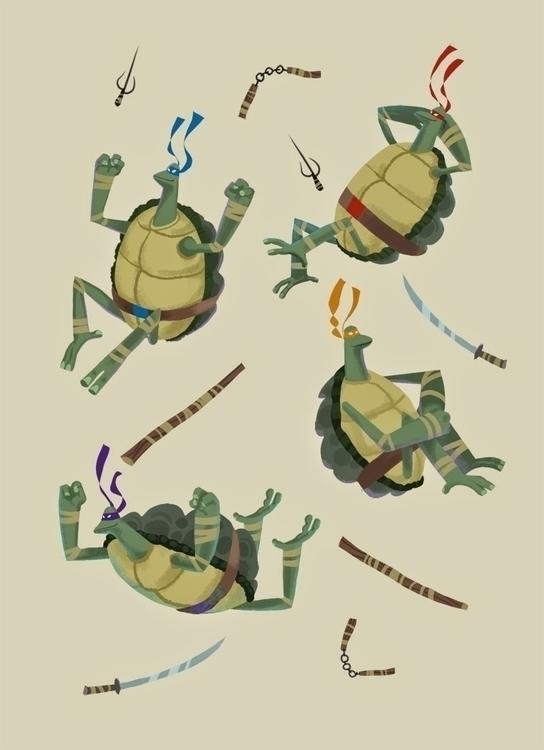 Teenage Mutant Ninja Turtles - TMNT - mikebear-1497 | ello