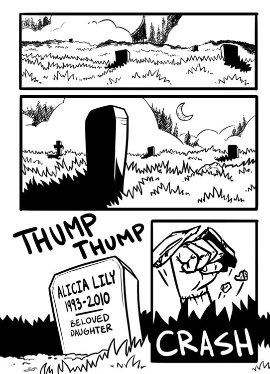 shallowgraves, comic, zombie - rachelpoulson   ello