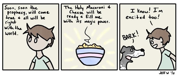 Jeff ate Mac Cheese + 5 Magic,  - exiledsketches | ello