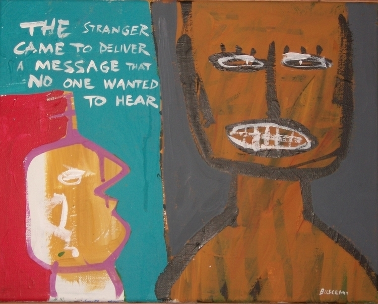 Stranger - edwardbuscemi | ello