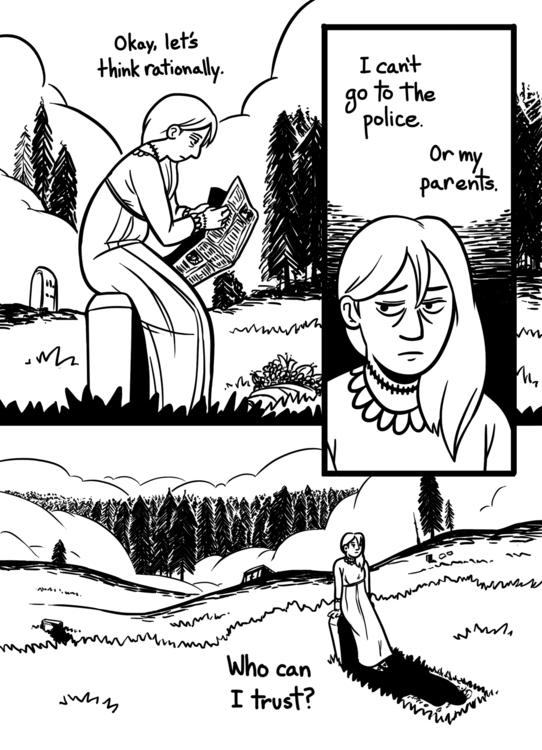 shallowgraves, comic, zombie - rachelpoulson | ello