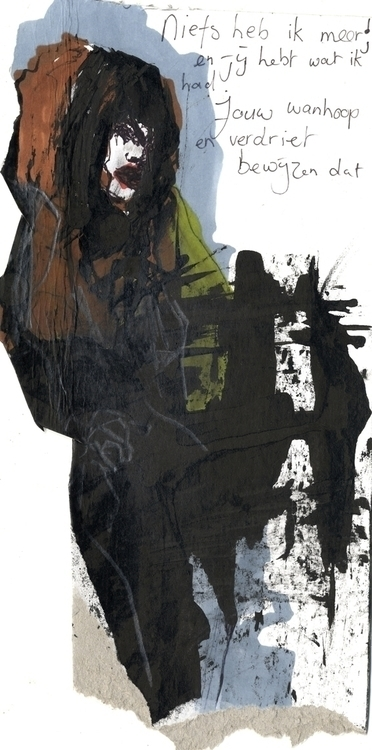 Niets - illustration, fashionillustration - ingeduiker | ello