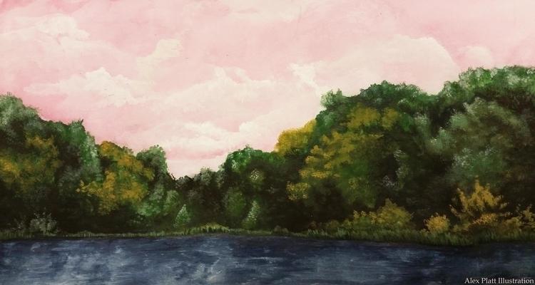 based book 'Lolita - lolita, landscape - alexplattillustration | ello