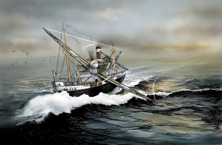 spitfire - illustration - tduc | ello