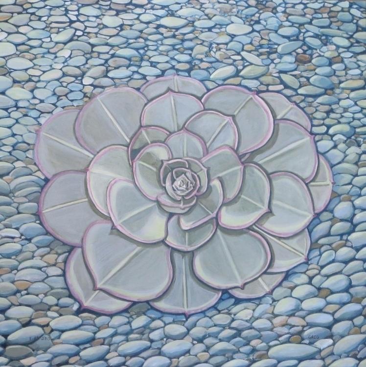 succulent acrylic illustration  - gregorygarrett | ello
