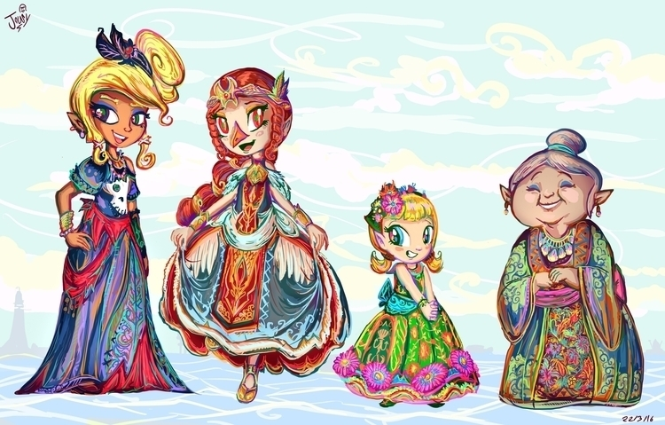 Dress designs girls game legend - jowybeanstudios | ello