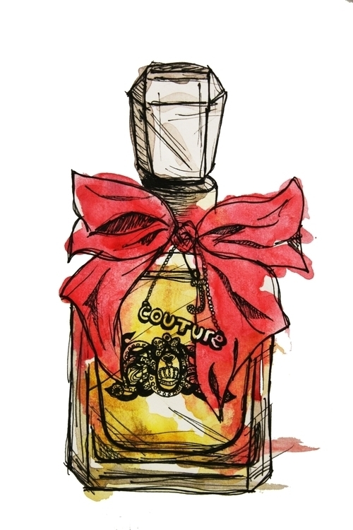 perfume illustration - juicycouture - kaitlynsmith | ello