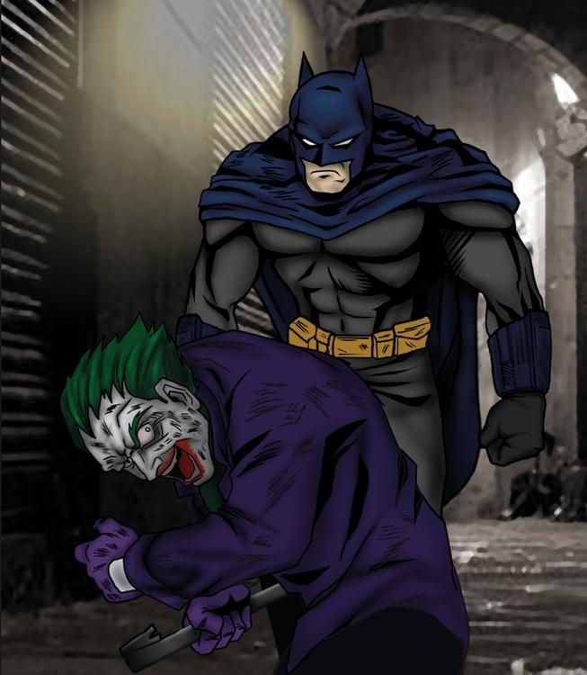 illustration, drawing, #batgirl#batman - emperador80 | ello
