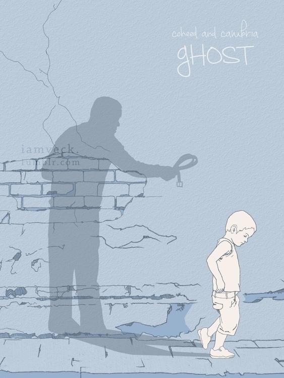 Song: Ghost Coheed Cambria Illu - veck_studios | ello