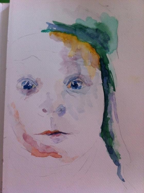 2, illustration, drawing, watercolor - valeagapi | ello
