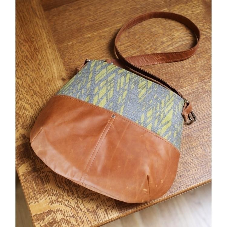 fabric/leather combo stitched B - entropyalwayswins | ello