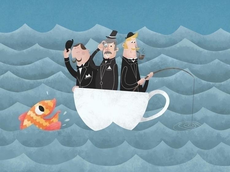 Gentleman Sea - James Loram - teacup - jamesloram   ello