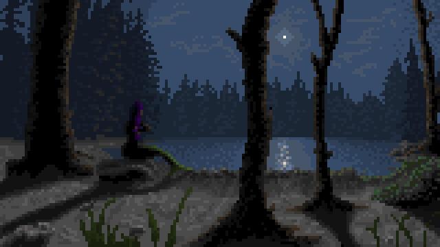 Night Landscape Mermaid - mermaid - punpcklbw | ello