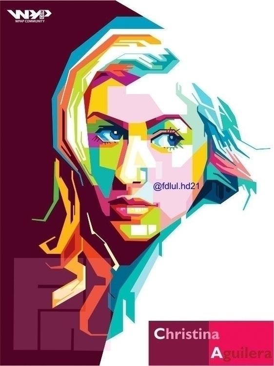 Christina Aguilera - digitalart - fh21 | ello