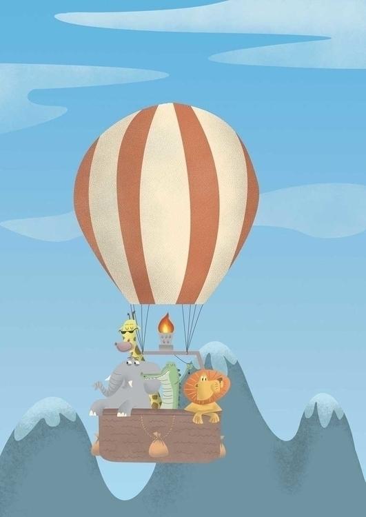 Lads Adventure - James Loram - hotairballoon - jamesloram | ello
