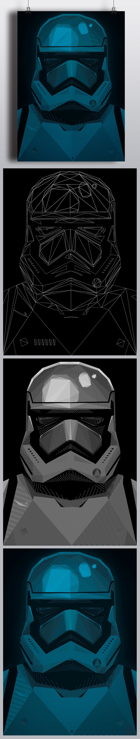 Star Wars Force Awakens corner - andreszen | ello