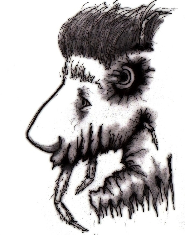 Twisted - #critter, illustration - cheechwiz | ello