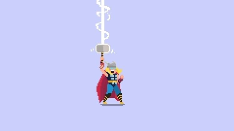 Day 70 / 365 - Thor - planckpixels | ello