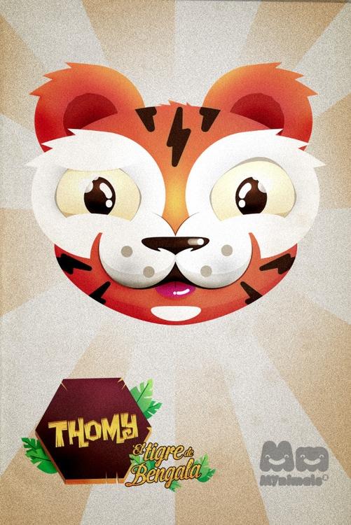 Thomy - characterdesign, vector - lukeandphil | ello