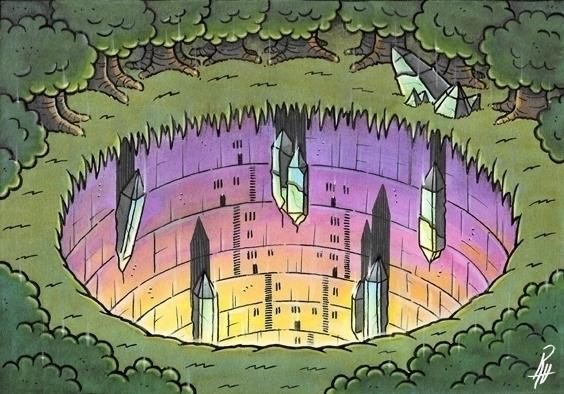 Earth - illustration, painting, song - marcorizzi-1205 | ello