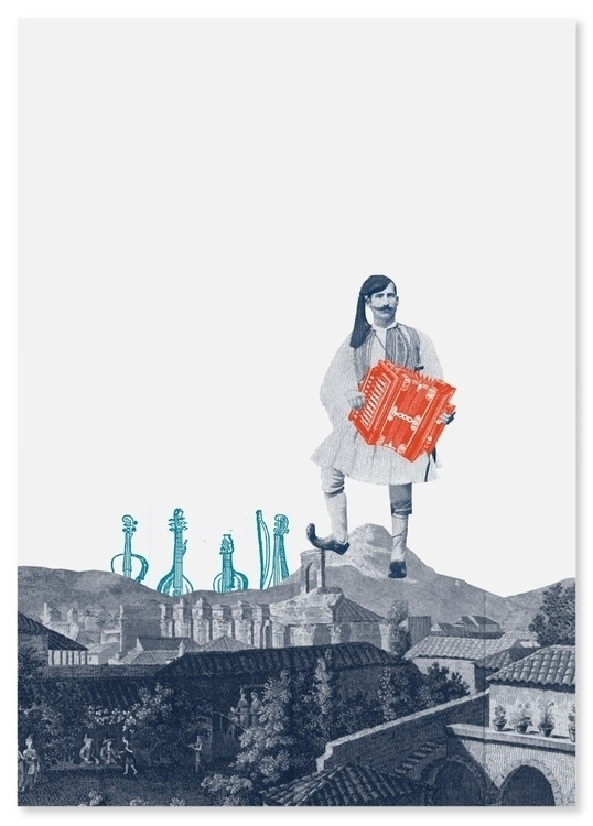 traditional, collage, Greece - nodataism | ello