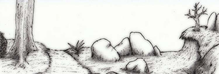 Forest - illustration, drawing, conceptart - cheechwiz | ello