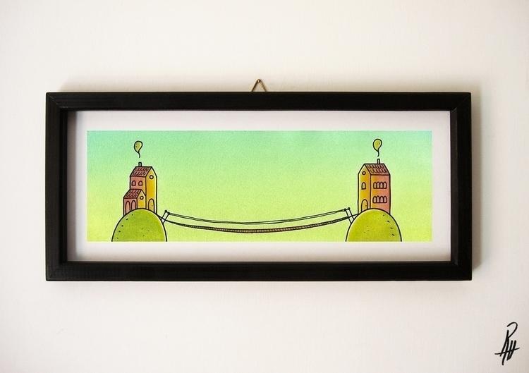 Friends (handmade frame - illustration - marcorizzi-1205 | ello