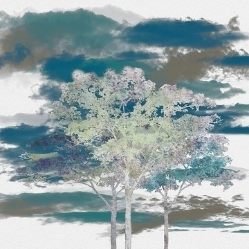 Trees - trees, art, digitalart, geckojoy - geckojoy | ello