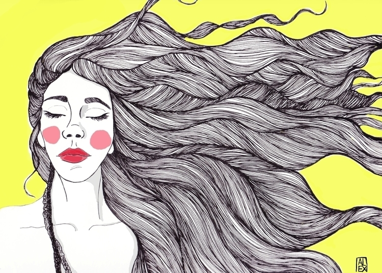 illustration, drawing - alexandrasperanza | ello