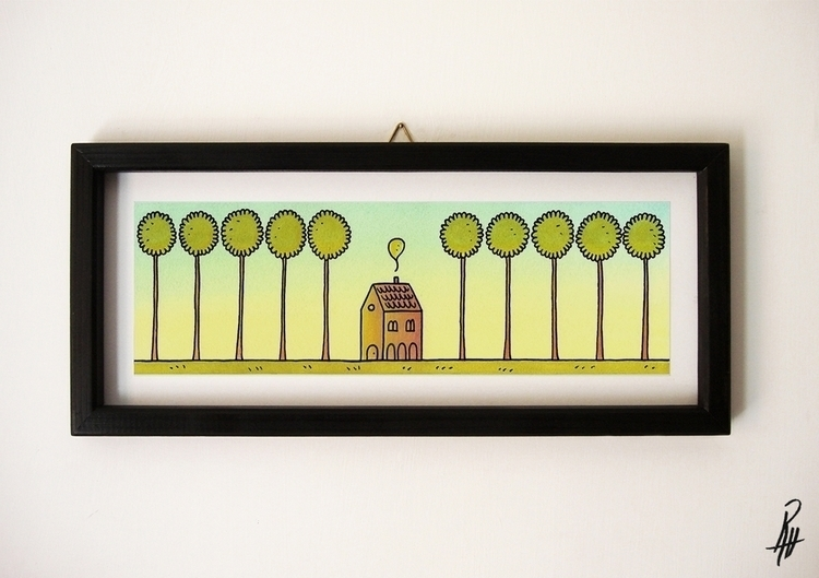 Shelter (handmade frame - illustration - marcorizzi-1205 | ello